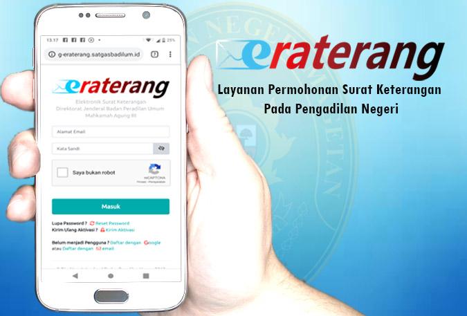 ERATERANG – Elektronik Surat Keterangan
